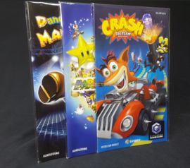 25 x Handleiding / Manual Sleeves for  Gamecube