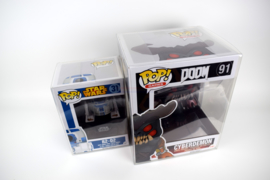 5x Snug Fit Box Protectors For Funko PoP LARGE 0.4 MM !