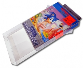 100x Snug Fit Box Protectors For Sega GameGear 0.4 MM  !