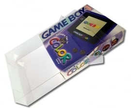 1x Snug Fit Box Protectors For Gameboy Color 0.4 MM !