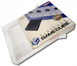 1 x Snug Fit Box Protector Voor Gamecube Memory Card 0.4 MM !