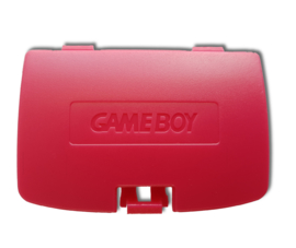 Gameboy COLOR Battery cover RED