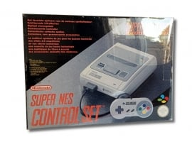 1x Snug Fit Box Protectors For SMALL SNES Console