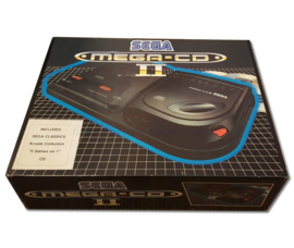1x Snug Fit Box Protectors For Sega MEGA CD II Console 0.4 MM !
