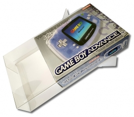1x Snug Fit Box Protectors For Gameboy Advance Widescreen 0.4 MM !