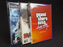 10 x Playstation 2 Game Sleeve