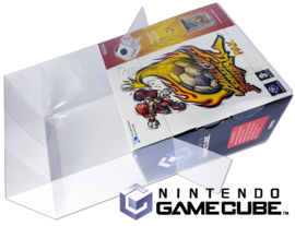 1x Snug Fit Box Protectors For Gamecube Console WITH KARTON SLEEVE 0.4 MM !