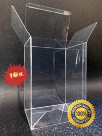 10x Snug Fit Box Protectors For Funko PoP 0.4 MM !