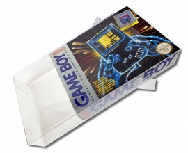 1x Snug Fit Box Protectors For Gameboy Classic LARGE 0.4 MM !