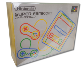 1x Snug Fit Box Protectors For Super Famicom Console 0.4 MM