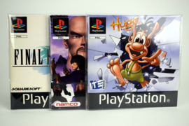 10 x Handleiding / Manual Sleeves for Playstation 1