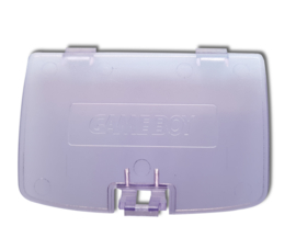 Gameboy COLOR Battery cover Clear purple