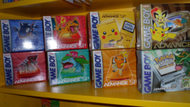 5x Gameboy Advance JAP Box protector
