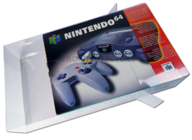 1x Snug Fit Box Protectors For N64 Console 0.4 MM !