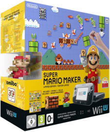 Wii U Super Mario Maker bundle Console Box Protector