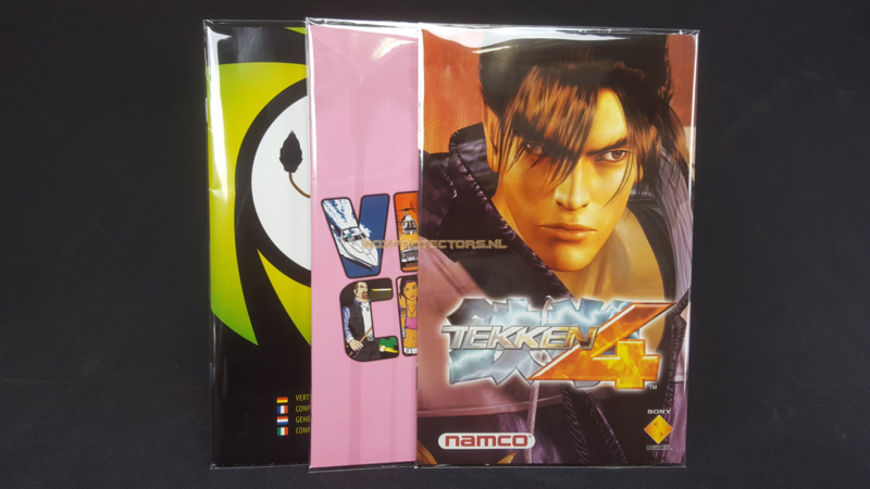 100 x Handleiding / Manual Sleeves for  PS2