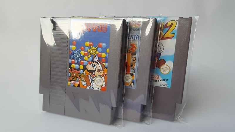 25 x Sleeve for NES Cartridges