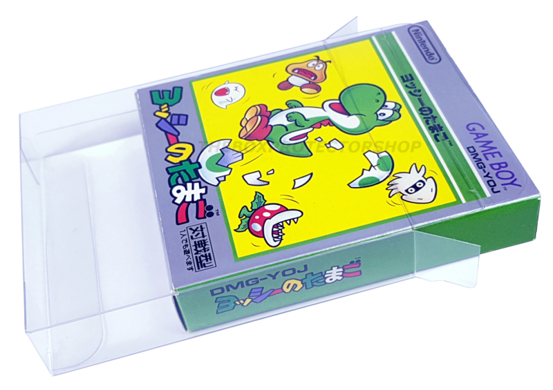 50x Snug Fit Box Protectors For Gameboy Classic Japanese Games