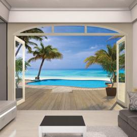 Foto behang Paradise Beach 43565
