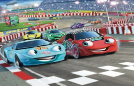 Foto behang Car Racers 41721