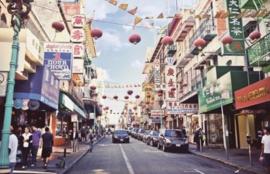 Foto behang Street of San Francisco CL26A