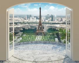Foto behang Eiffel Tower 43589