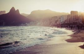 Foto behang Rio de Janeiro Beach CL52A