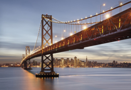 Foto behang Bay Bridge 8-733