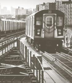 Foto behang New York Metro CL02A