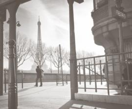 Foto behang Parijs CL43A