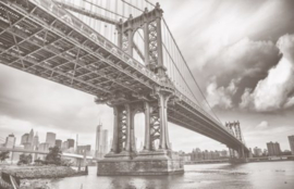 Foto behang New York Brooklyn Bridge CL04A