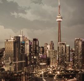 Foto behang Toronto CL24A