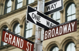 Foto behang New York Broadway CL20A