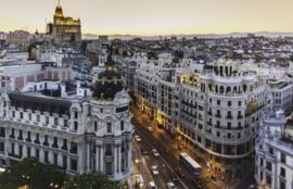 Foto behang Madrid CL15A