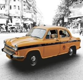 Foto behang New Delhi Taxi CL61A