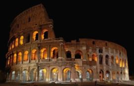 Foto behang Rome Colosseum CL35A