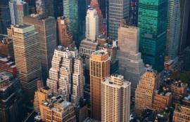 Foto behang New York CL12A