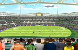 Foto behang Football Crazy 41769