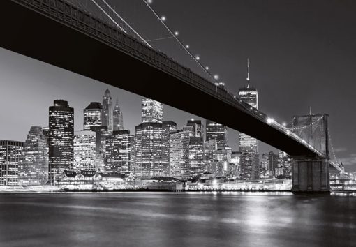 Foto behang Brooklyn Bridge 00140