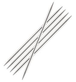 Breipennen zonder knop 5 stuks 20cm nummer 2