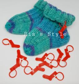 Steekmarkeerders 10 stuks sokken