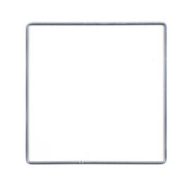 Vierkant metaal 20x20
