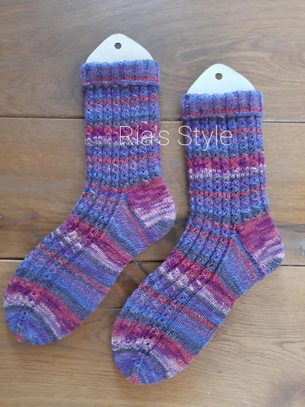 Hand gebreide sokken maat 42