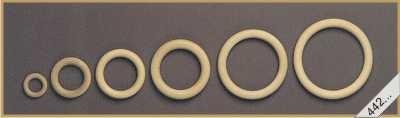Houten ring 35x7mm per stuk