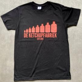 t-shirt DKF zwart [heren]
