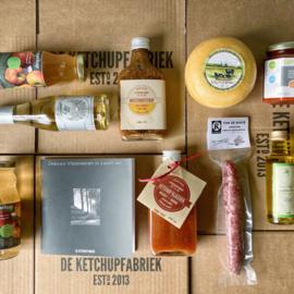 Een doos vol lekkers uit Zeeland.
