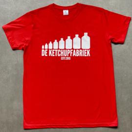 t-shirt DKF rood [heren]