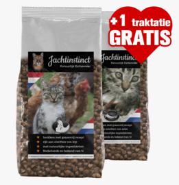 Kattenbrokken Graanvrij (10kg + 1 gratis traktatie)