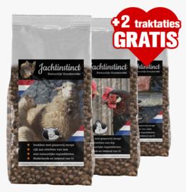 Hondenbrokken Graanvrij  (20kg + 2 gratis traktaties)