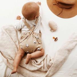 Babybroek Bretels | Bloomers Cotton Flower